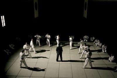 Donnie Yen in Ip Man fighting Ten Japanese Soldiers